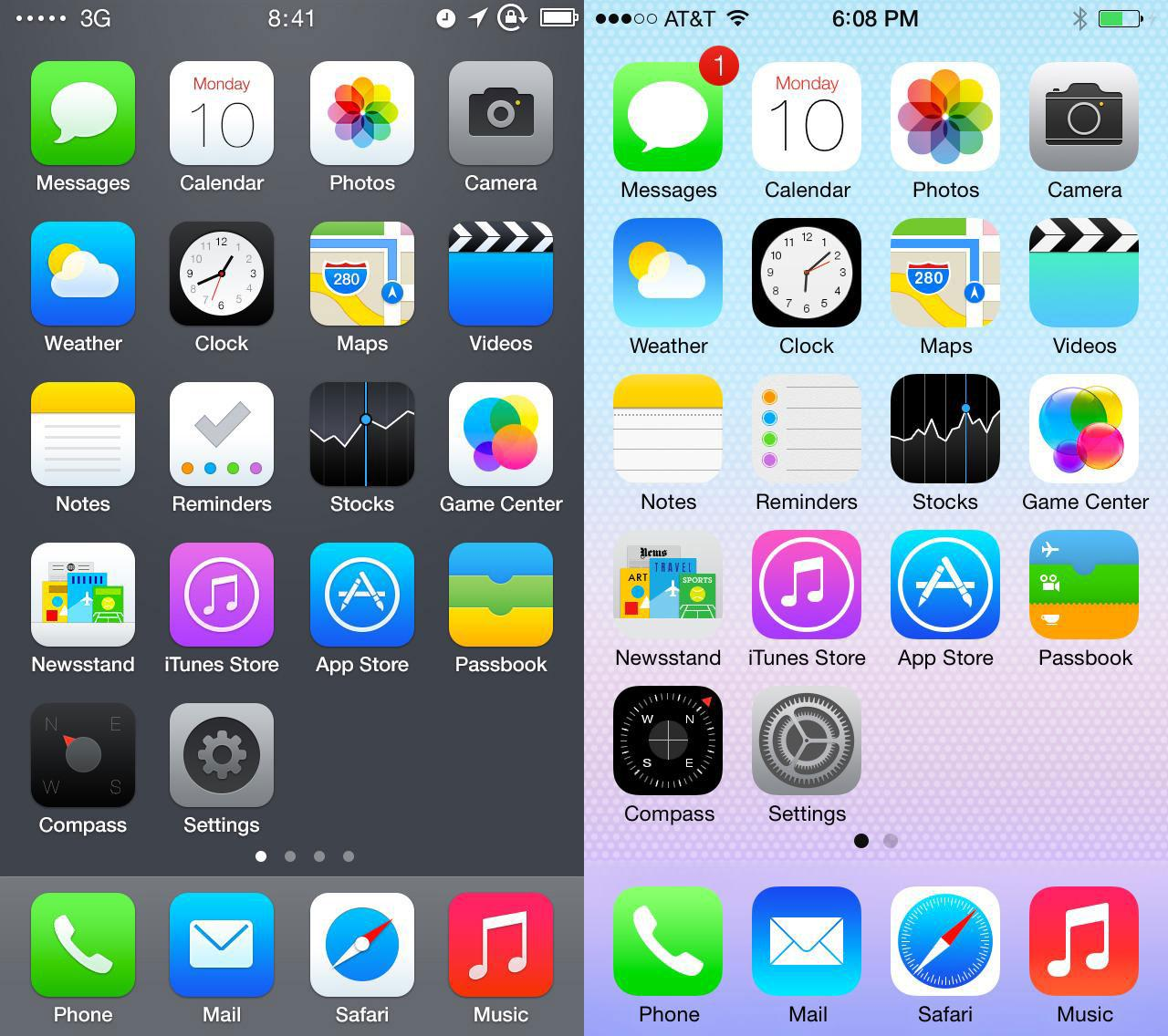 iPhoneのホーム画面投稿サイト